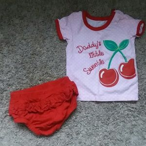 Other - 9 Month Baby Girl Outfit
